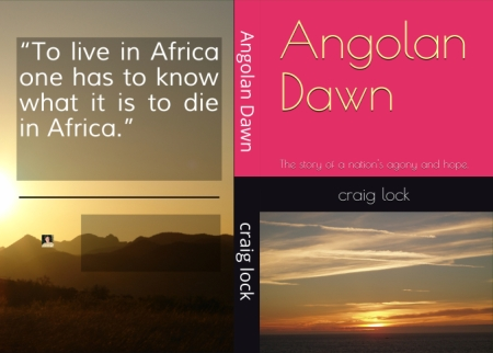 ANGolan Dawn new cover from Kindle pb